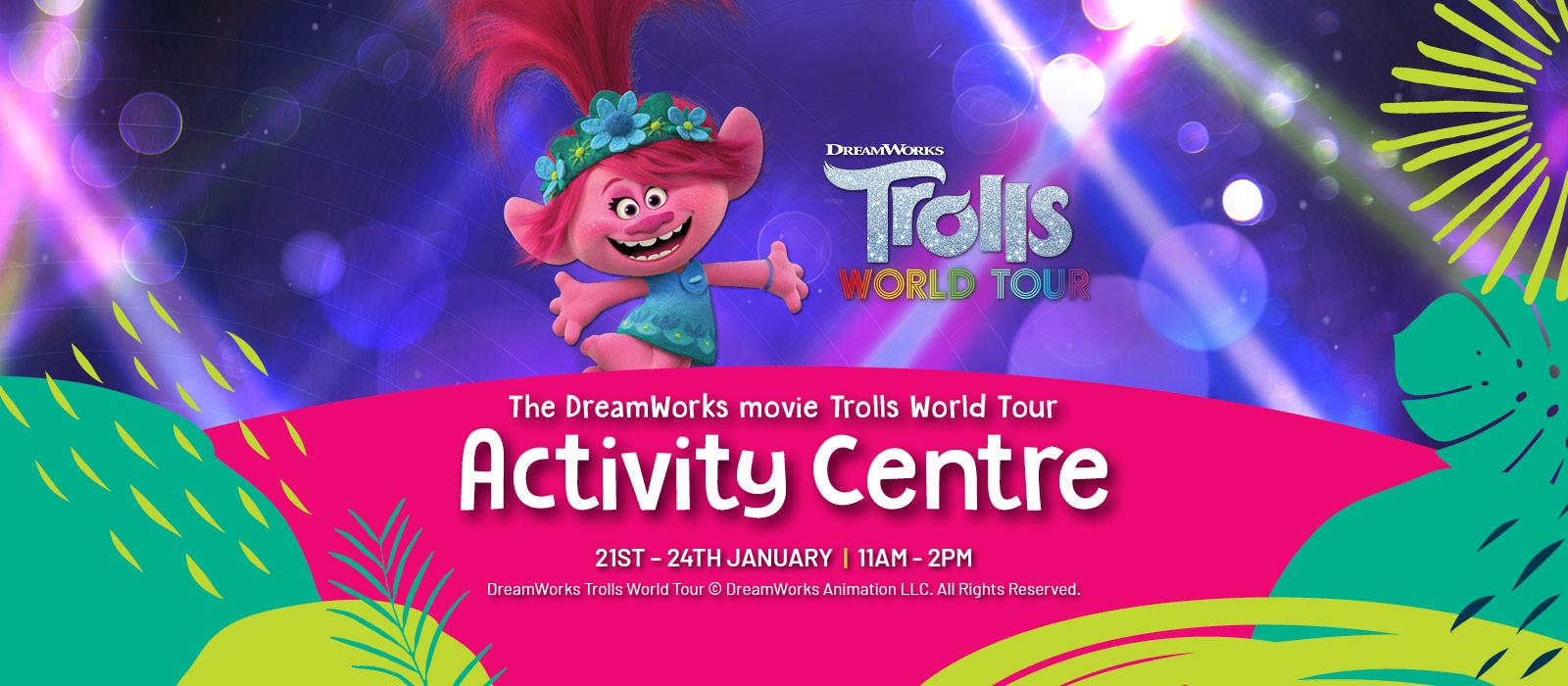 Lidcombe Shopping Centre School Holidays - Trolls Activity Centre