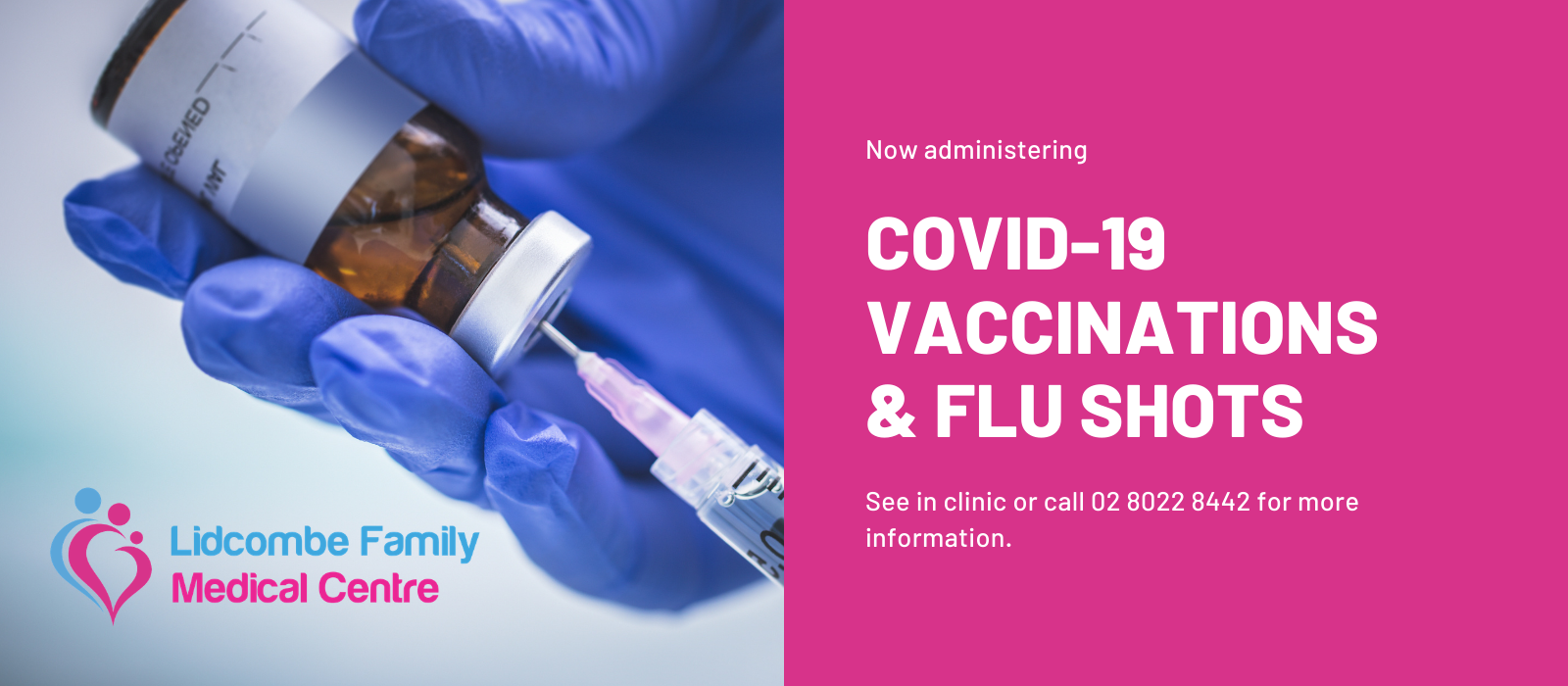 Lidcombe Family Medical Centre_COVID-19 Vaccinations